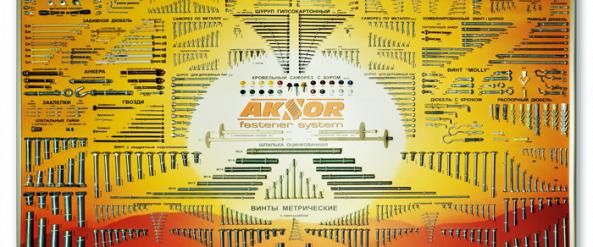 Зразки торгово-виставкових стендів AKSOR
